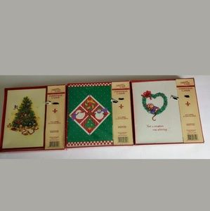 3 Boxes Of Christmas Cards by Gibson 18(+)